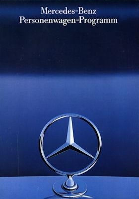 Mercedes-Benz Programm 1986