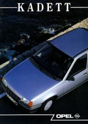Opel Kadett E Prospekt 1989 nl