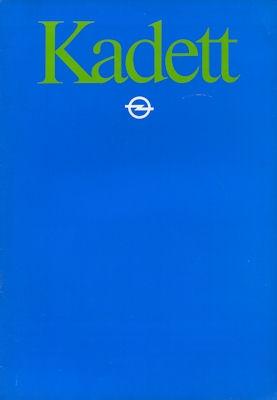 Opel Kadett D Prospekt 1982 nl