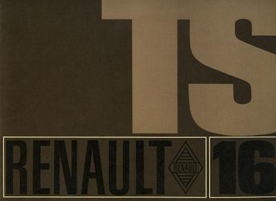 Renault 16 TS Prospekt 1969