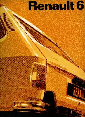 Renault 6 Prospekt 1971