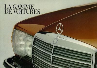 Mercedes-Benz Programm 1978 f