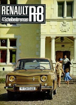 Renault 8 Prospekt 1964