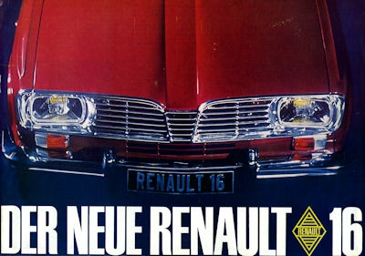 Renault 16 Prospekt 1965