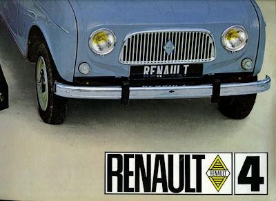 Renault 4 Prospekt 1966