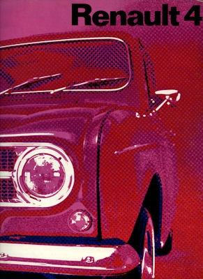 Renault 4 Prospekt 1971