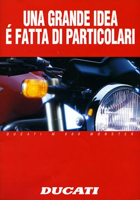 Ducati M 900 Monster Prospekt 1994