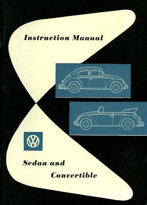 VW Käfer Bedienungsanleitung 12.1958 e