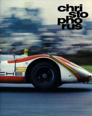 Porsche Christophorus 1969 Nr. 101