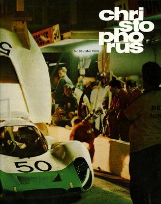 Porsche Christophorus 1969 Nr. 98