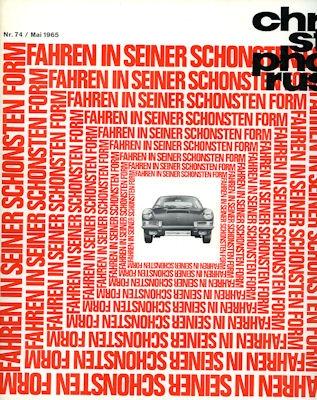 Porsche Christophorus 1965 Nr. 74