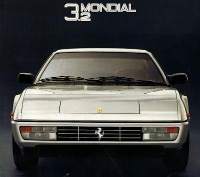 Ferrari Mondial 3.2 Prospekt 1985