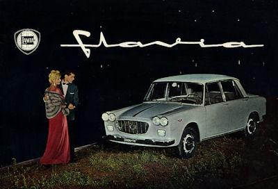 Lancia Flavia Prospekt 1960er Jahre f