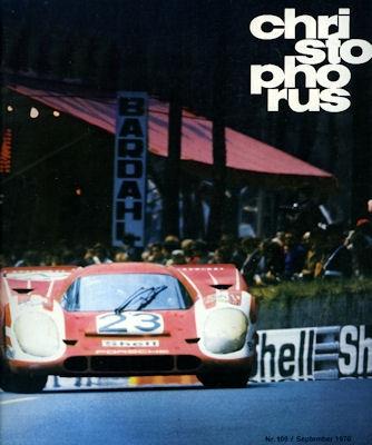 Porsche Christophorus 1970 Nr. 106