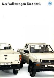 VW Taro 4x4 Prospekt ca. 1990