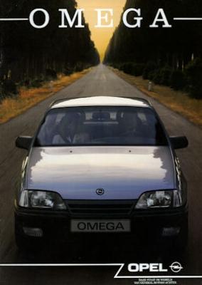 Opel Omega Prospekt 1989 nl