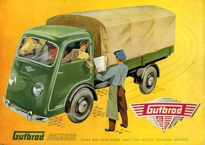 Gutbrod Atlas 800 Prospekt 1950