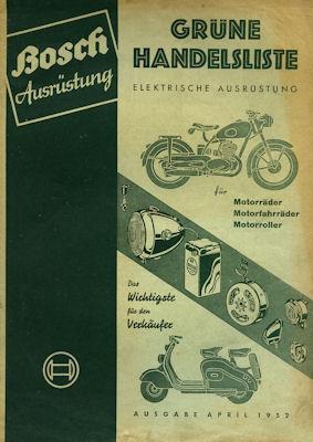 Bosch Grüne Handelsliste 4.1952