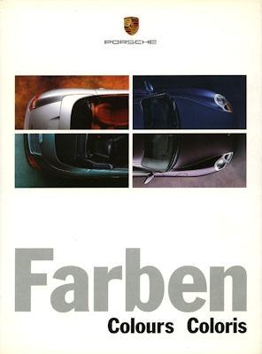 Porsche Farben 1999