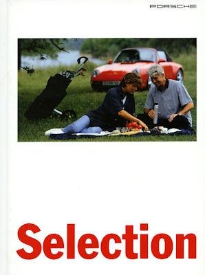 Porsche Selection Prospekt 8.1995