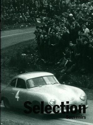 Porsche Selection Souvenirs Prospekt 1995