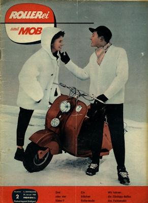 Rollerei und Mobil / Roller Mobil Kleinwagen 1955 Heft 2
