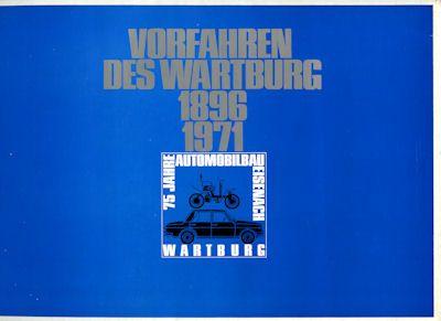 Wartburg Mappe 1896-1971