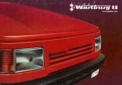 Wartburg 1,3 Prospekt 1988