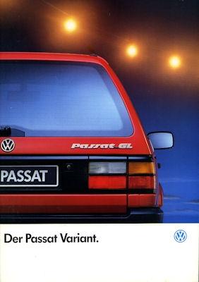 VW Passat Variant Prospekt 1993