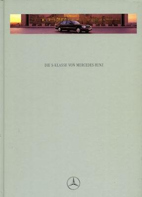 Mercedes-Benz S Klasse Prospekt 9.1995