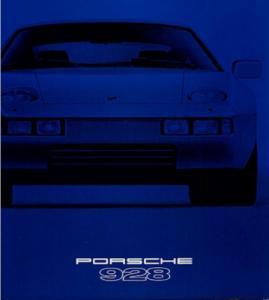 Porsche 928 Prospekt 1979