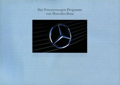 Mercedes-Benz Programm 1991