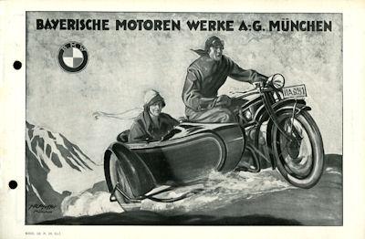 BMW Programm 1927