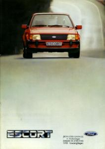 Ford Escort Prospekt 12.1983