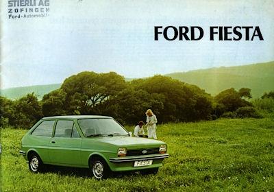 Ford Fiesta Prospekt ca.1980