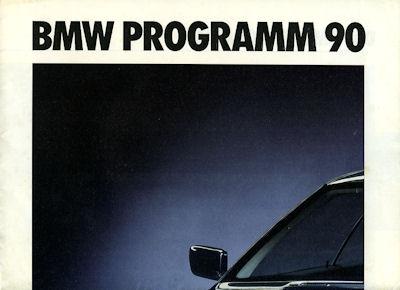 BMW Programm 1990
