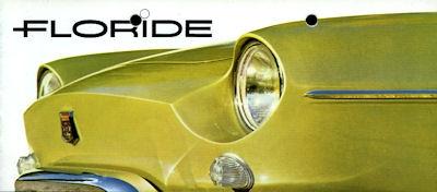 Renault Floride Prospekt ca. 1962