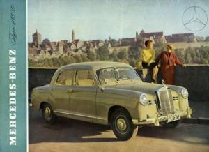 Mercedes-Benz 180 D Prospekt 1954 e