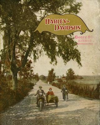 Harley-Davidson Programm ca. 1932
