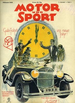 Motor & Sport 1928 Heft 1