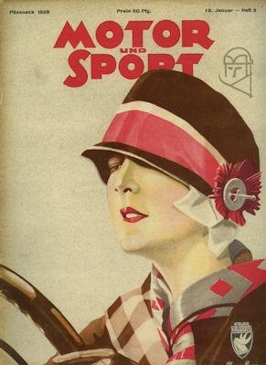Motor & Sport 1928 Heft 3