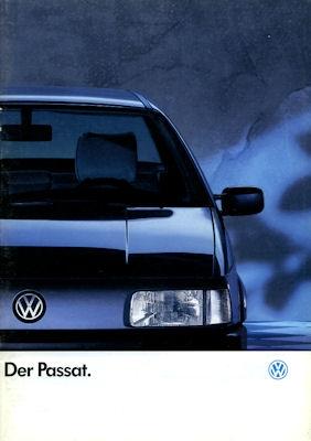 VW Passat Prospekt 1990