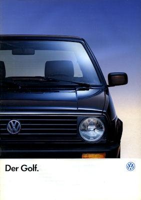 VW Golf 2 Prospekt 1991