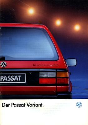 VW Passat Variant Prospekt 1991