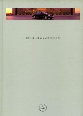 Mercedes-Benz S Klasse Prospekt 1995