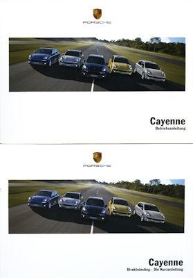 Porsche Cayenne Bedienungsanleitung 2011
