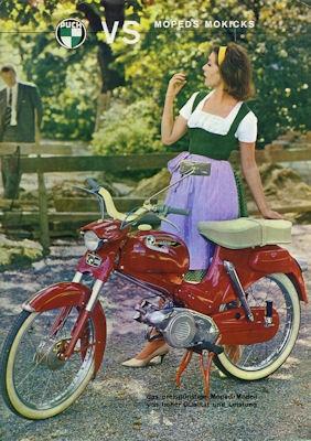 Puch VS Moped / Mokick Prospekt ca.1970
