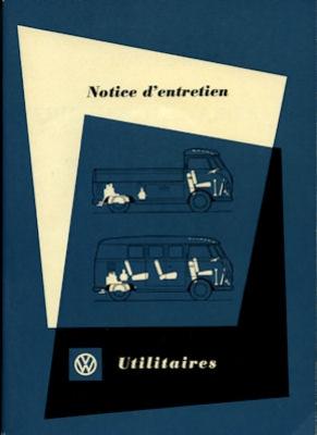 VW T 1 Bedienungsanleitung 5.1959 f