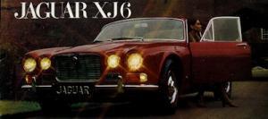 Jaguar XJ 6 Prospekt 1968