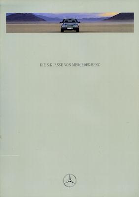 Mercedes-Benz S Klasse Prospekt 1992